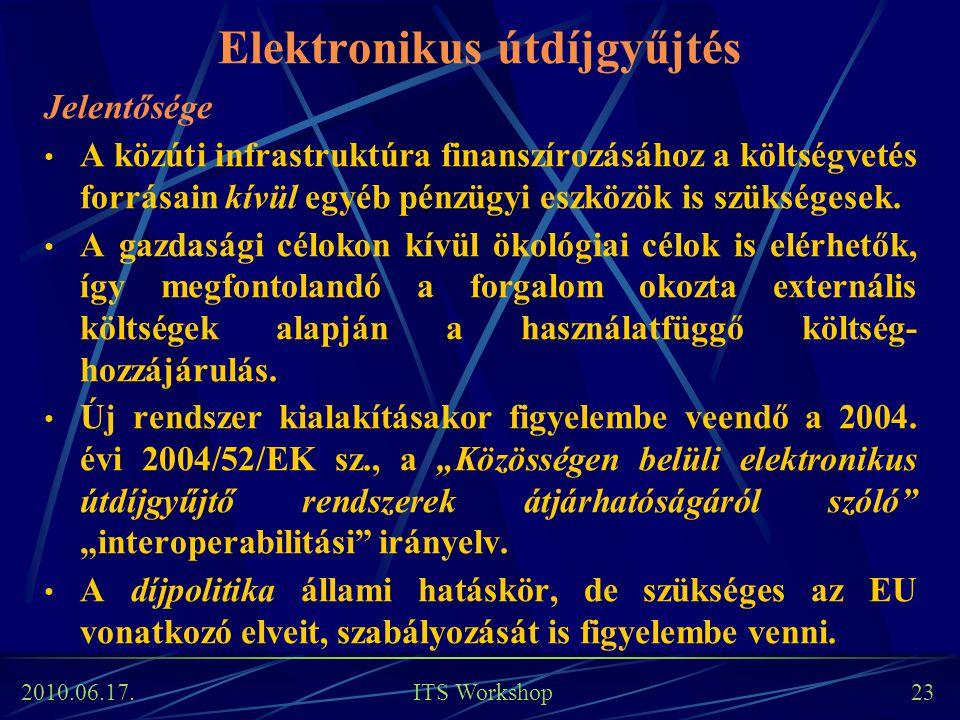 Elektronikus útdíjgyűjtés