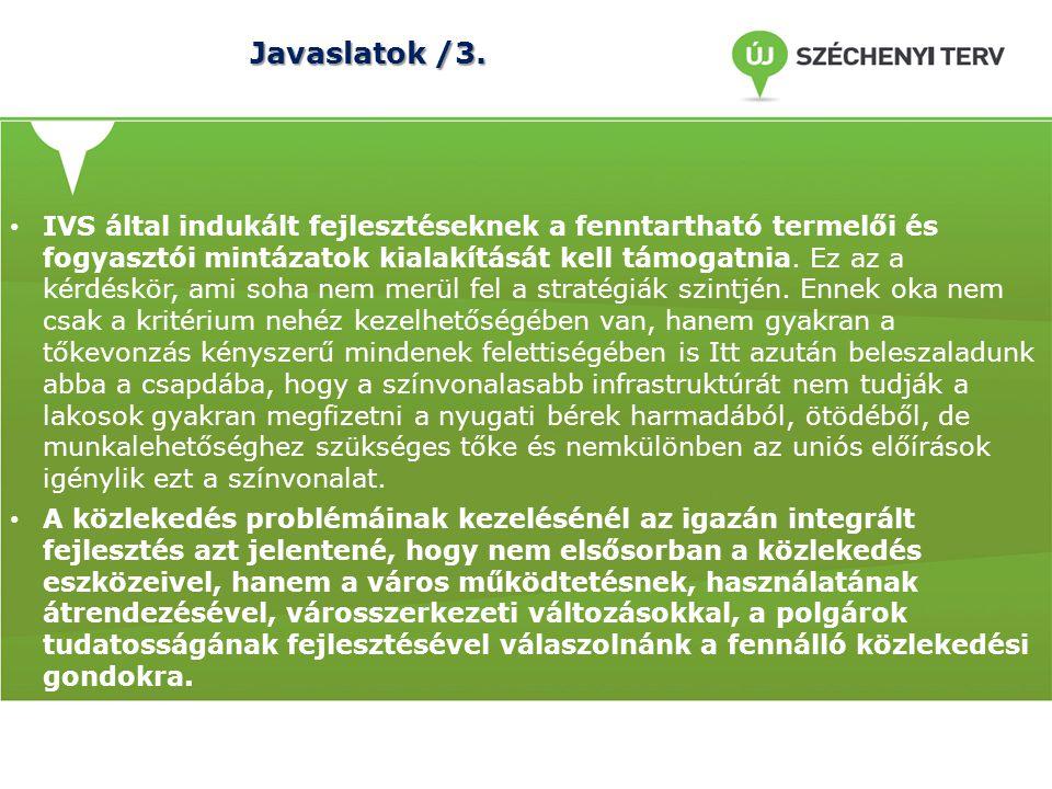 Javaslatok /3.