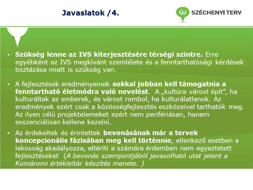 Javaslatok /4.