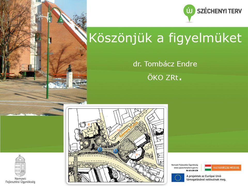 Köszönjük a figyelmüket dr. Tombácz Endre ÖKO ZRt.