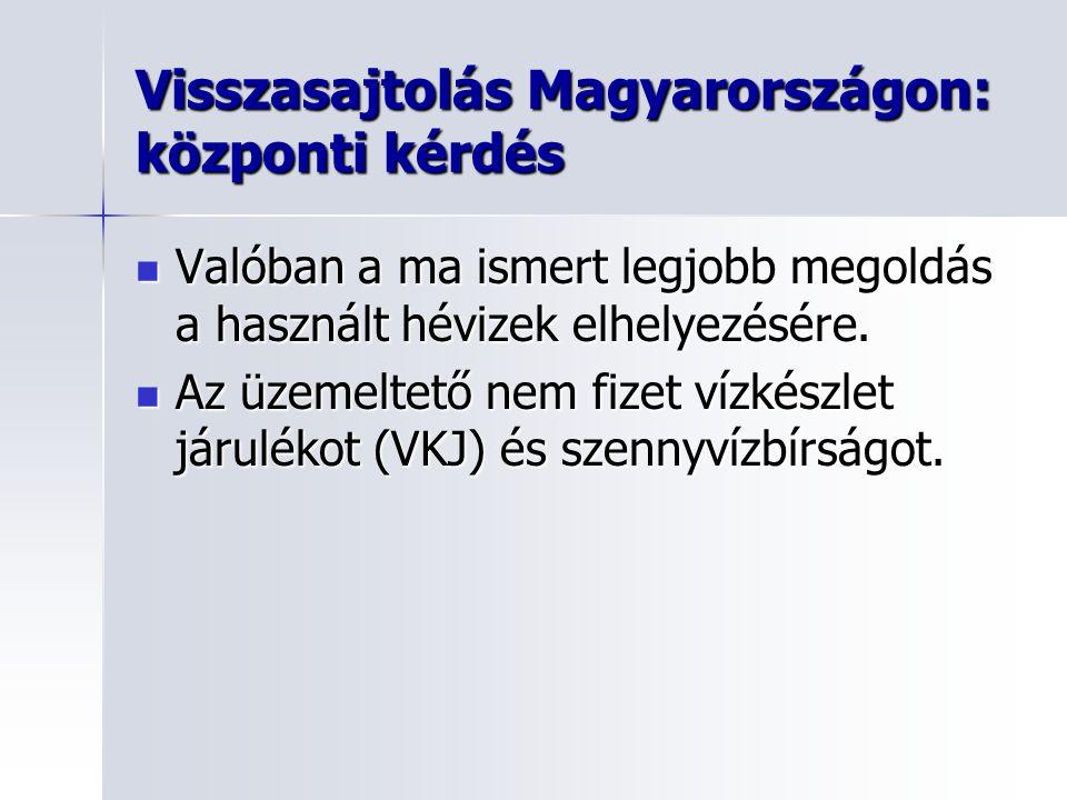 Visszasajtolás Magyarországon: központi kérdés