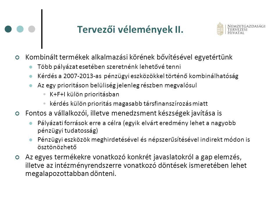 Tervezői vélemények II.