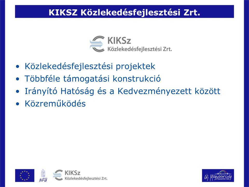 KIKSZ Közlekedésfejlesztési Zrt.