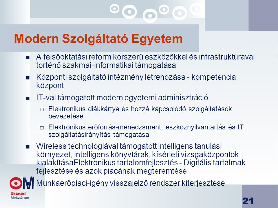 Modern Szolgáltató Egyetem