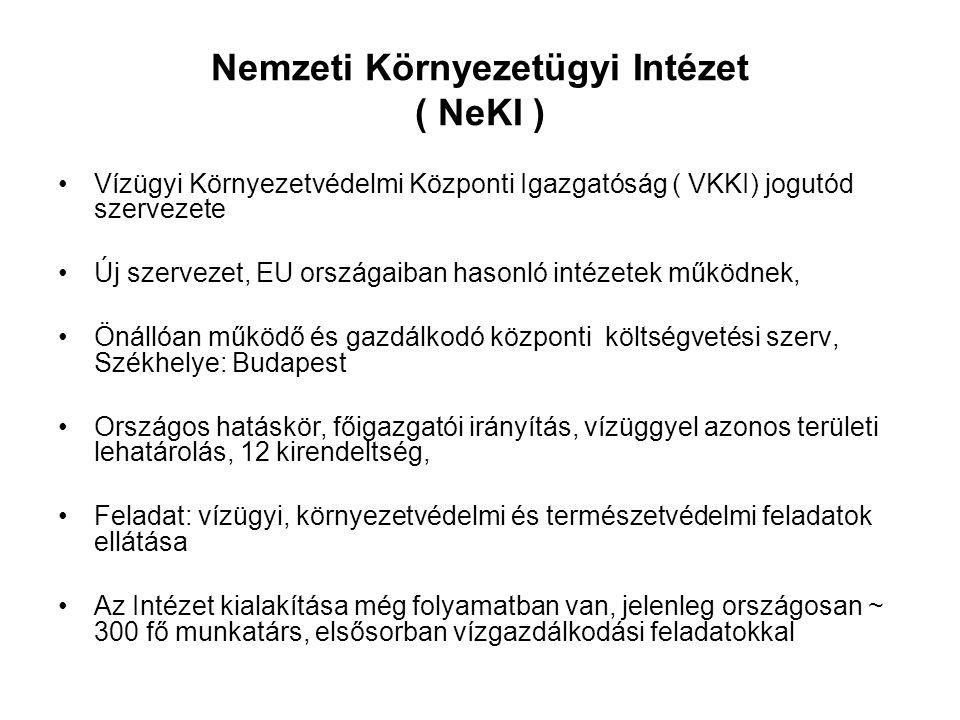 Nemzeti Környezetügyi Intézet ( NeKI )