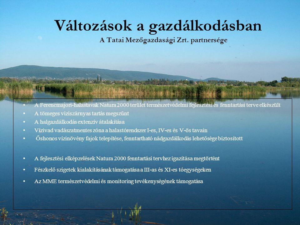Változások a gazdálkodásban A Tatai Mezőgazdasági Zrt. partnersége