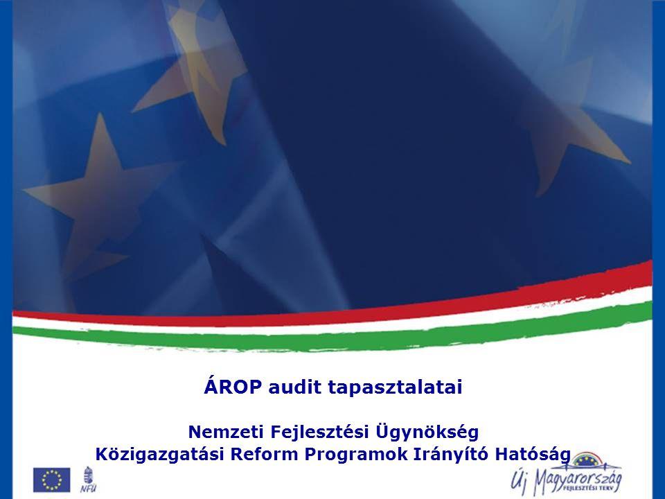 Közigazgatási Reform Programok IH
