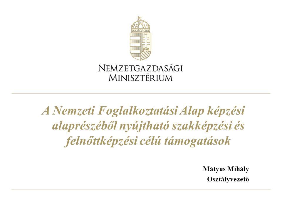Mátyus Mihály Osztályvezető