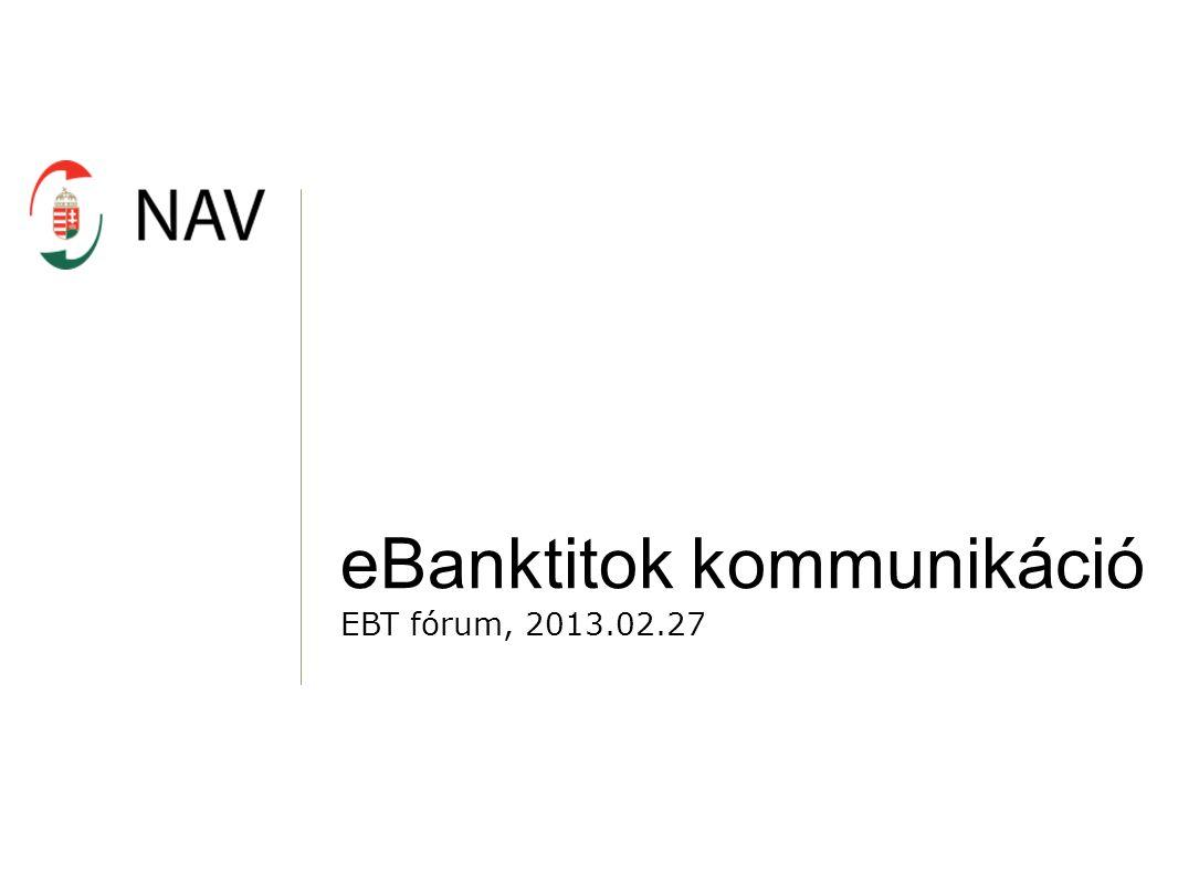 eBanktitok kommunikáció
