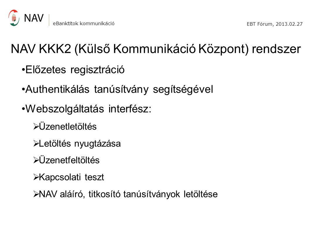 NAV KKK2 (Külső Kommunikáció Központ) rendszer