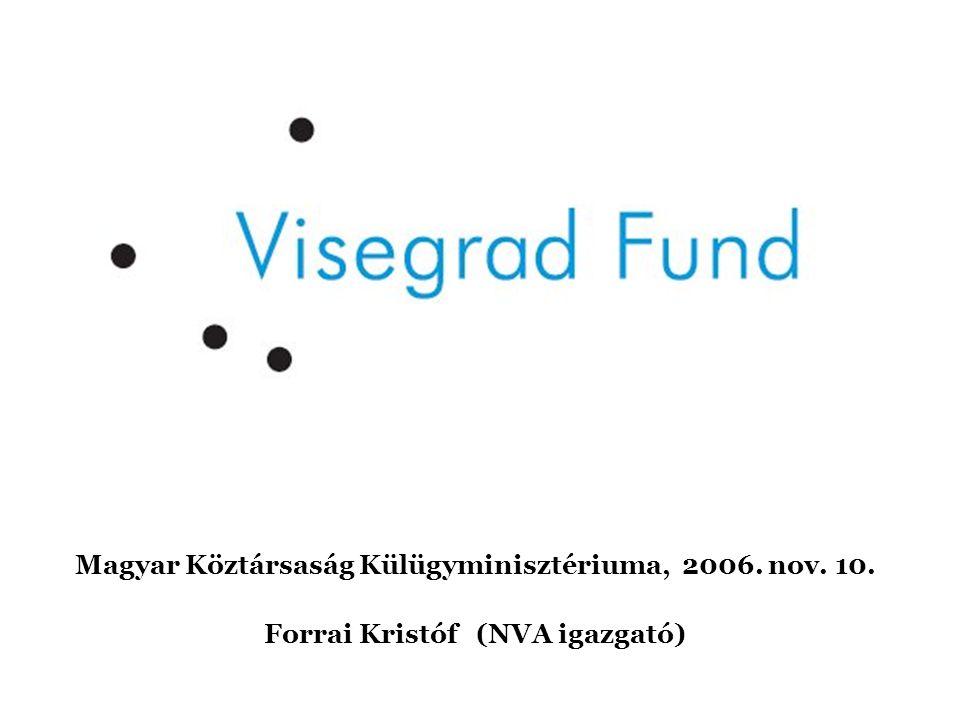 Magyar Köztársaság Külügyminisztériuma, 2006. nov. 10.