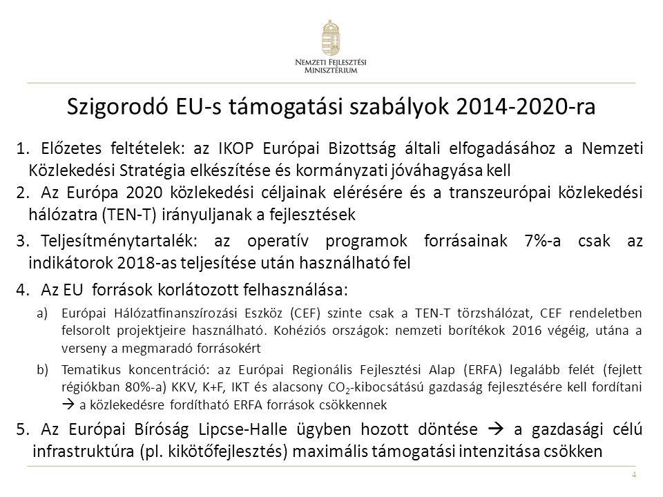 Szigorodó EU-s támogatási szabályok 2014-2020-ra