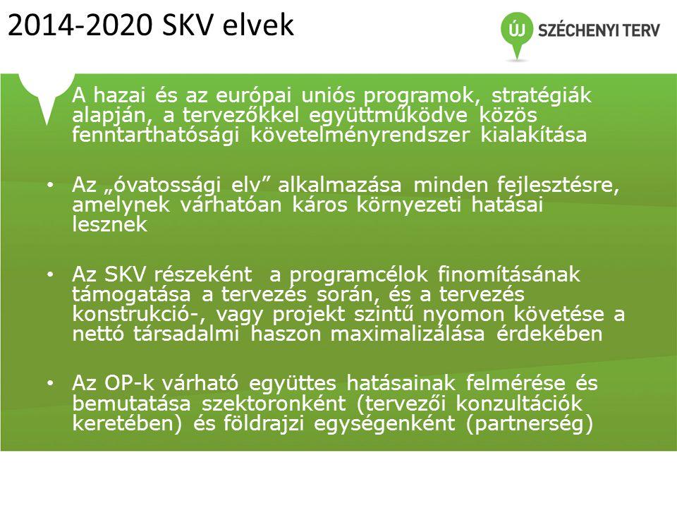 2014-2020 SKV elvek