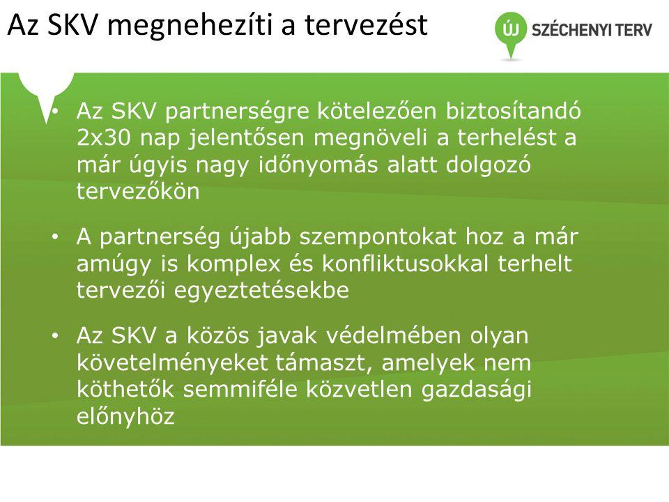Az SKV megnehezíti a tervezést