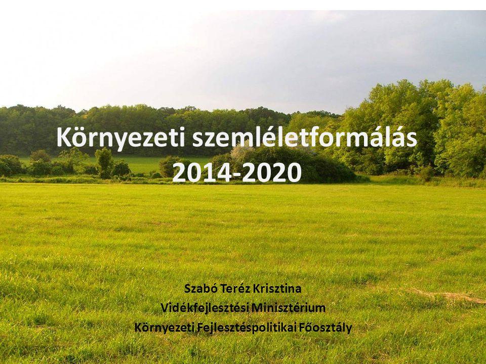 Környezeti szemléletformálás 2014-2020