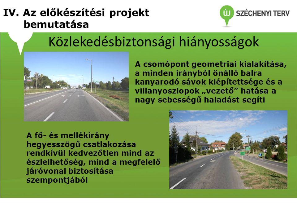 Közlekedésbiztonsági hiányosságok