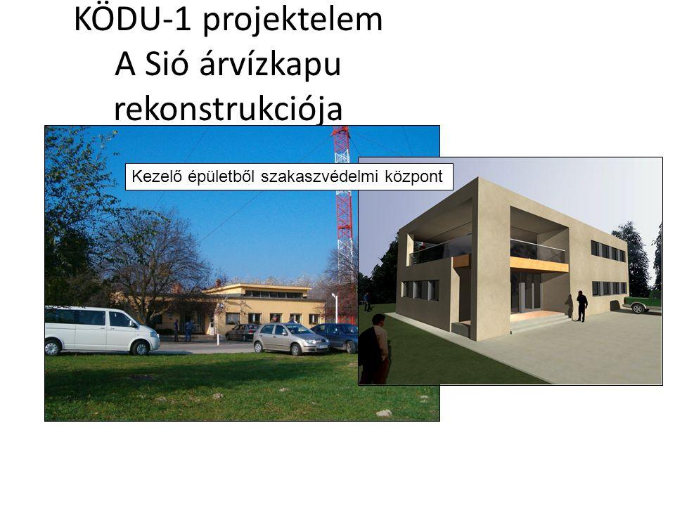 KÖDU-1 projektelem A Sió árvízkapu rekonstrukciója