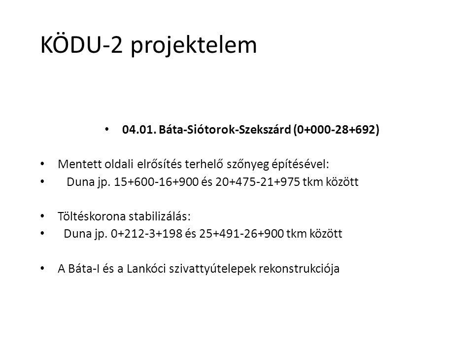 04.01. Báta-Siótorok-Szekszárd (0+000-28+692)