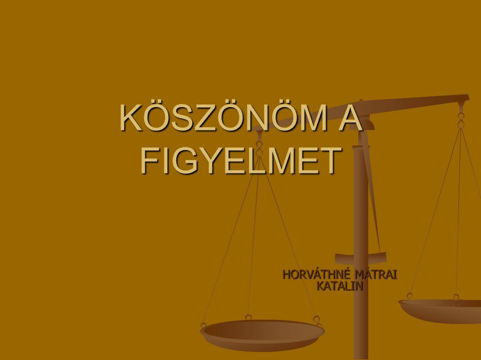 HORVÁTHNÉ MÁTRAI KATALIN
