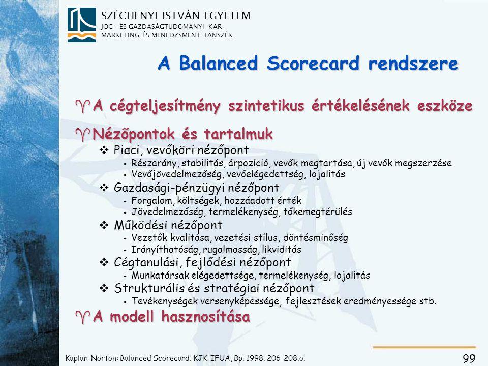 BSC indíték = verseny az információs korszakban