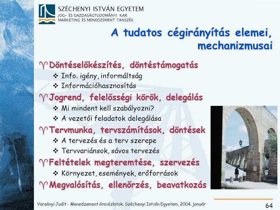 Szervezet és mechanizmus