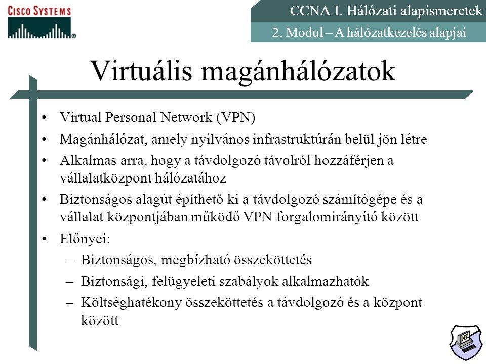 Virtuális magánhálózatok