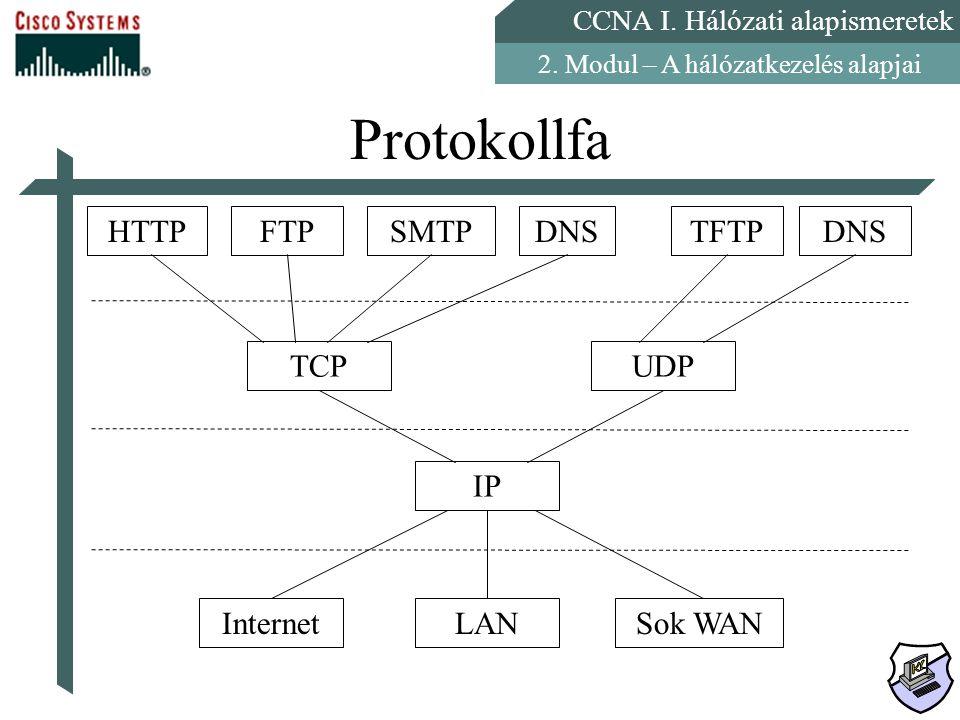 Protokollfa HTTP FTP SMTP DNS TFTP TCP UDP IP Internet LAN Sok WAN