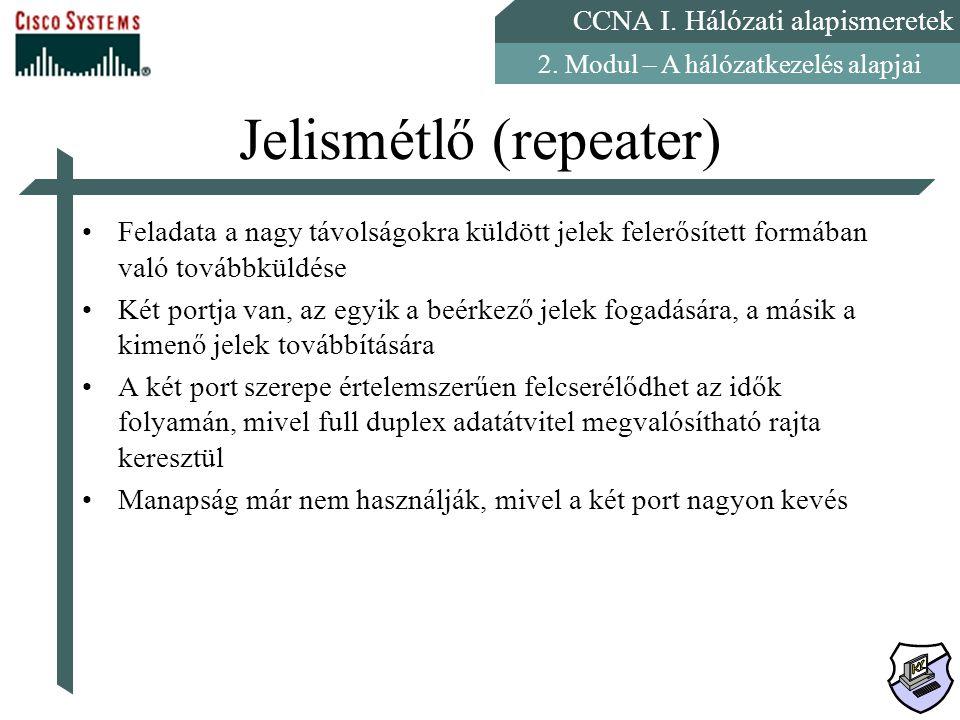 Jelismétlő (repeater)