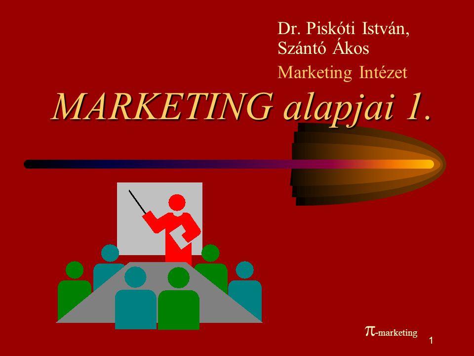 Dr. Piskóti István, Szántó Ákos Marketing Intézet