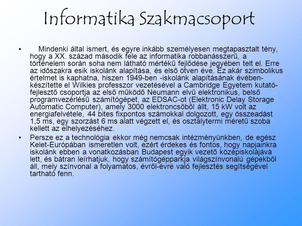 Informatika Szakmacsoport