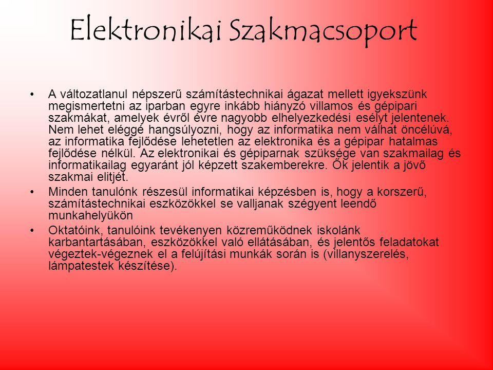 Elektronikai Szakmacsoport