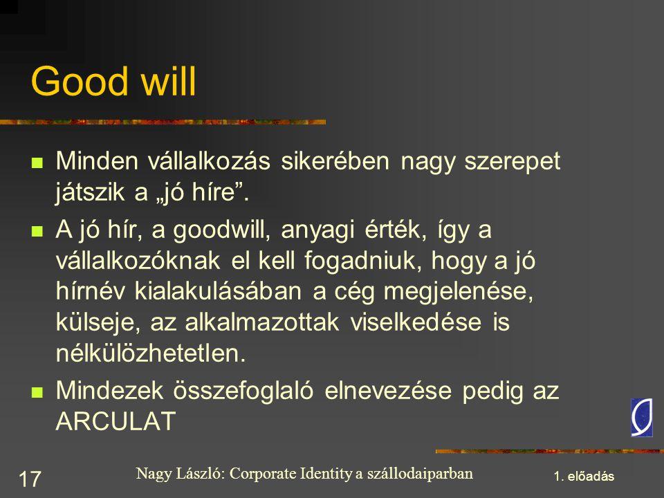 """Good will Minden vállalkozás sikerében nagy szerepet játszik a """"jó híre ."""