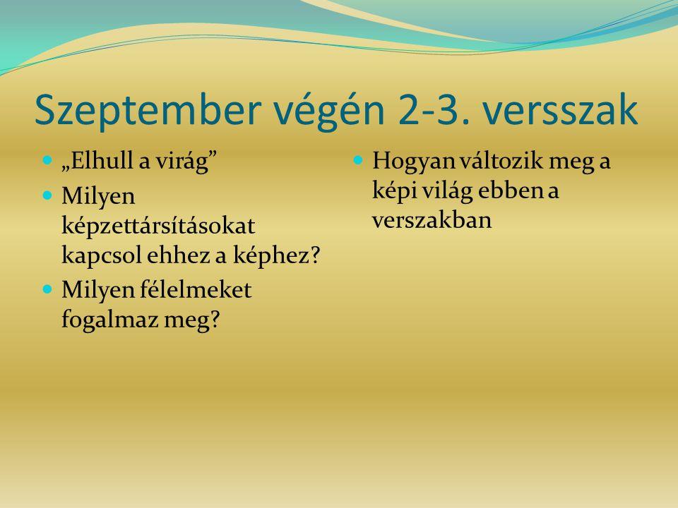 Szeptember végén 2-3. versszak