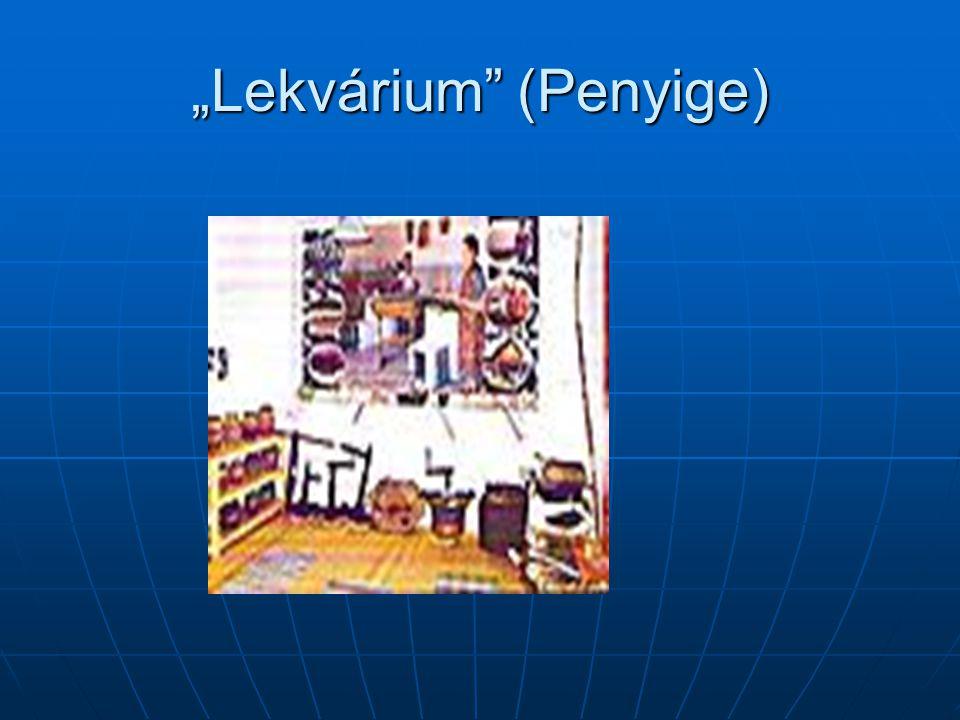 """""""Lekvárium (Penyige)"""