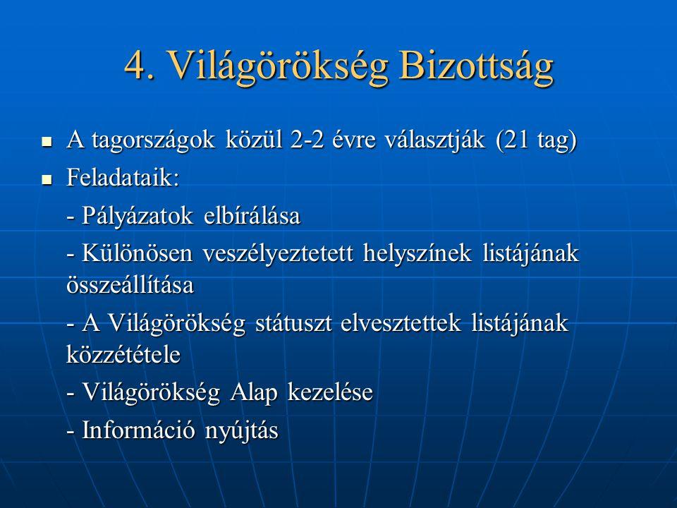 4. Világörökség Bizottság