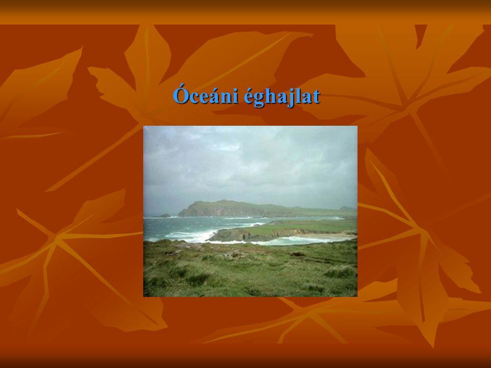 Óceáni éghajlat