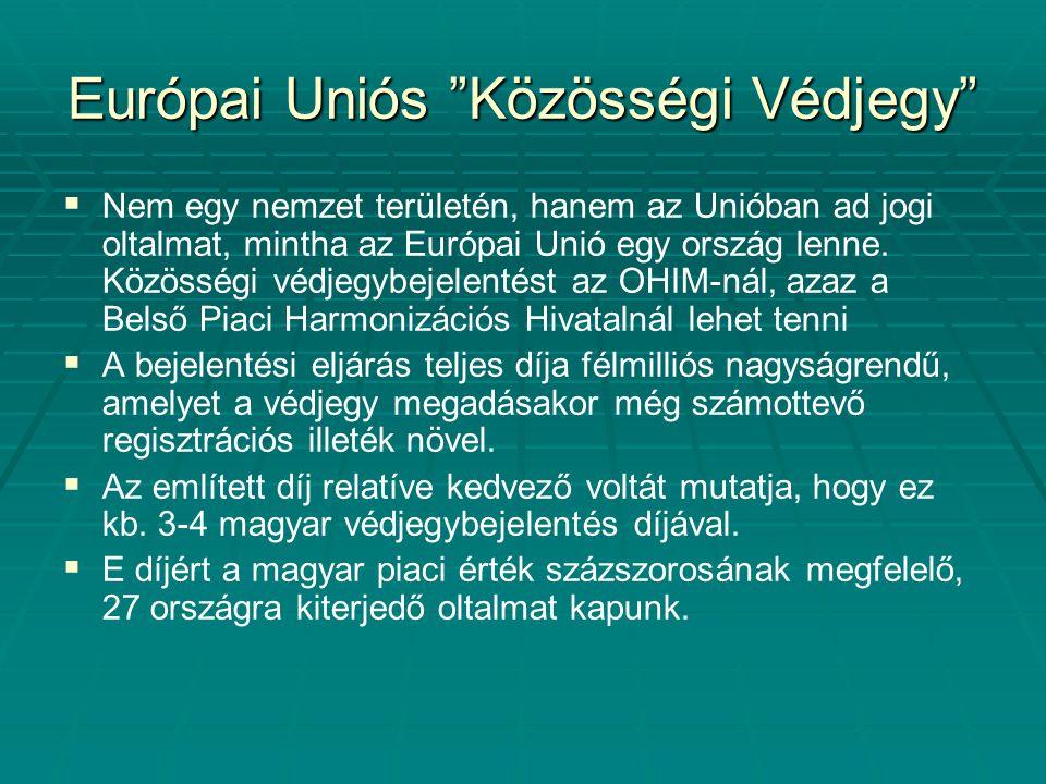 Európai Uniós Közösségi Védjegy