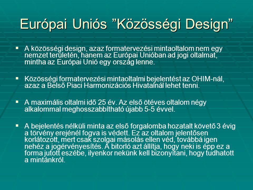 Európai Uniós Közösségi Design