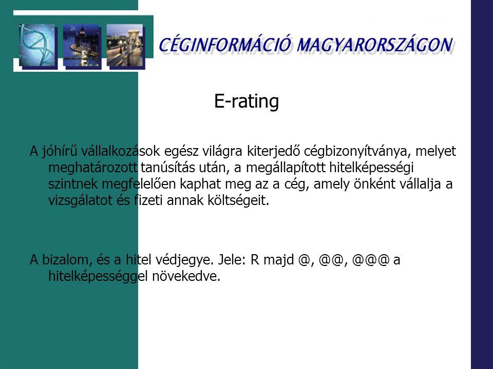 E-rating