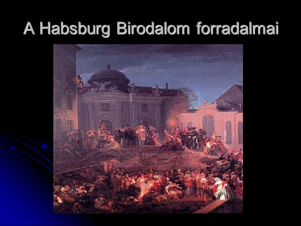 A Habsburg Birodalom forradalmai