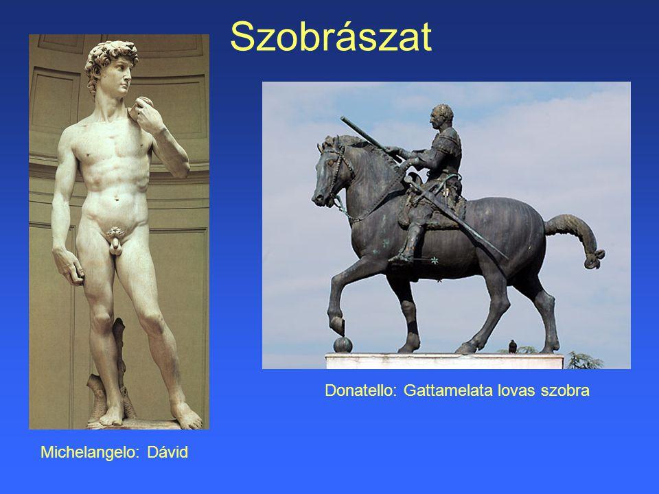 Donatello: Gattamelata lovas szobra