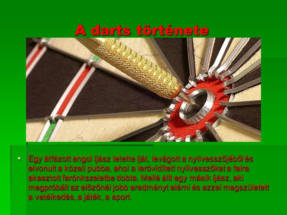 A darts története