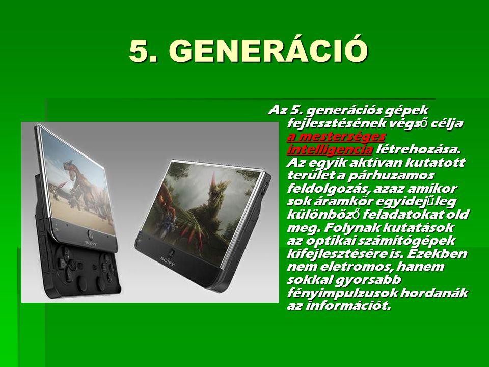 5. GENERÁCIÓ