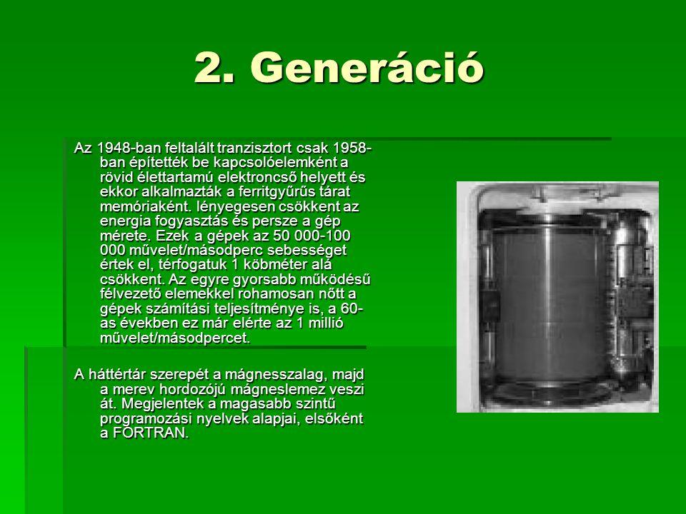 2. Generáció