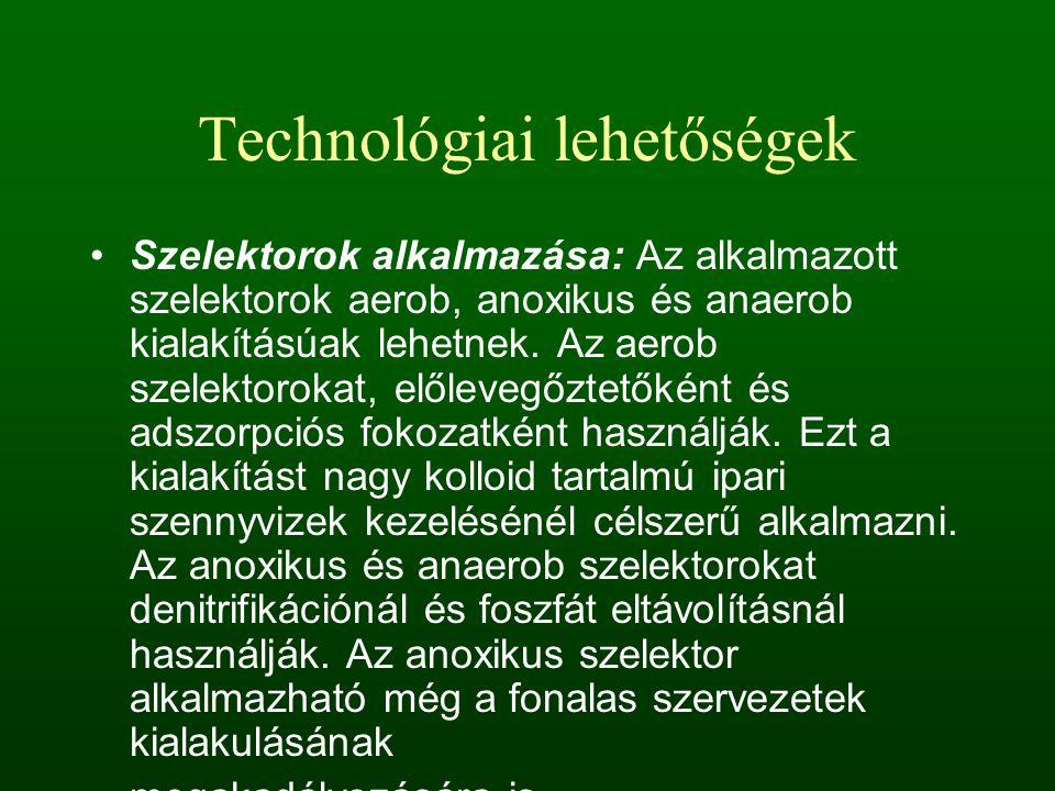 Technológiai lehetőségek