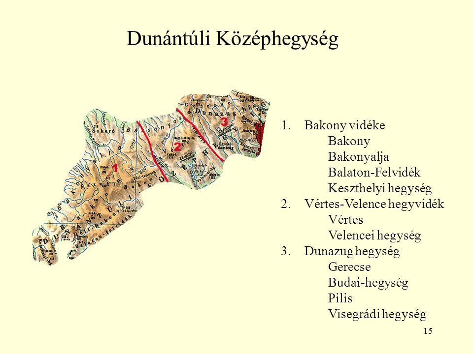 Dunántúli Középhegység