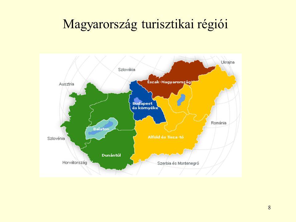 Magyarország turisztikai régiói