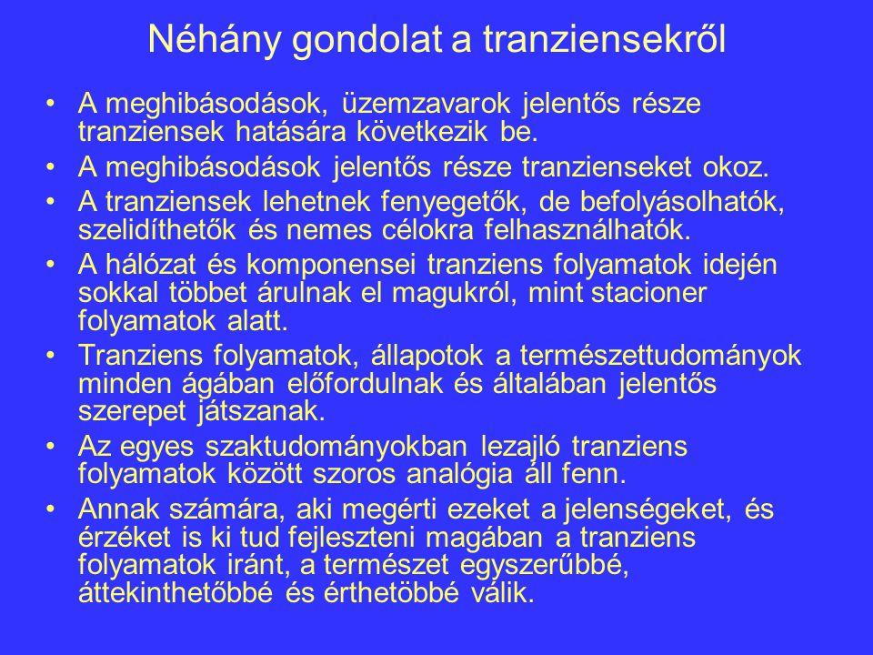Néhány gondolat a tranziensekről