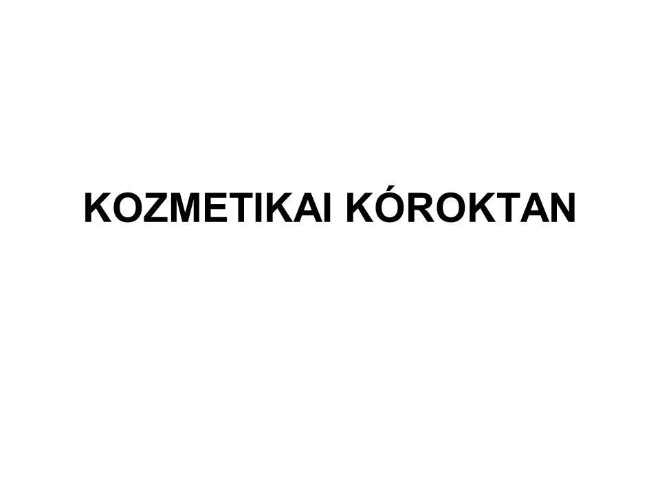 KOZMETIKAI KÓROKTAN