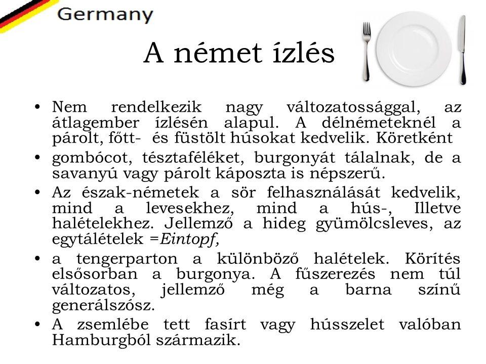 A német ízlés